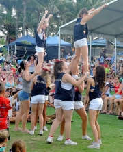 Aussie Cheer And Dance Perform Acrobatics-gallery