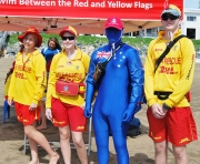 Captain Australia and Yeppoon SLSC Members-gallery