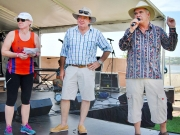 Fun Run Presentations - Cap Coast Runners Rep, Bruce Young MP, Mayor Bill Ludwig-gallery
