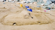 The Great Australian Ute Was One Of The Sand Sculptures Created For The Great Australia Day Beach Party-gallery