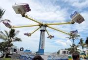 The Hurricane - One Of Several Exciting Rides At The Yeppoon Beach Party-gallery